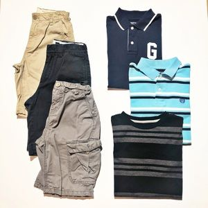 Various Brands | Shirts/Shorts Bundle, Boys' (10)